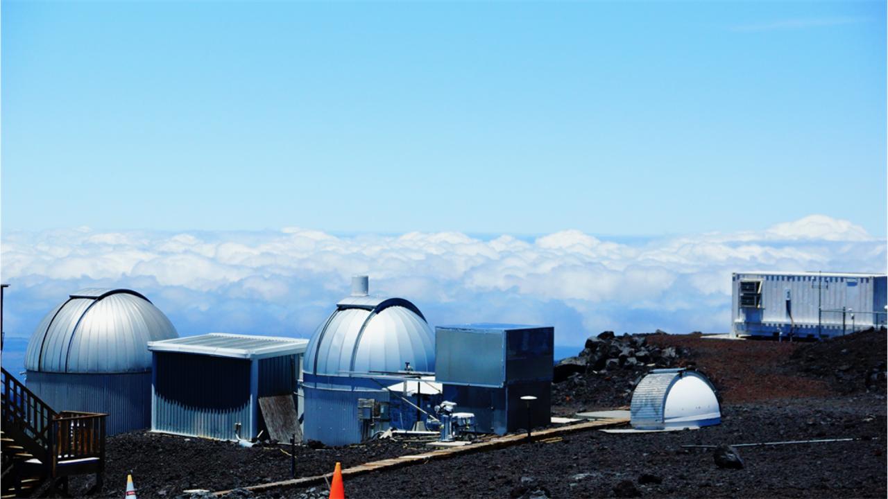 Atmospheric C02 Mauna Loa Observatory Hawaii
