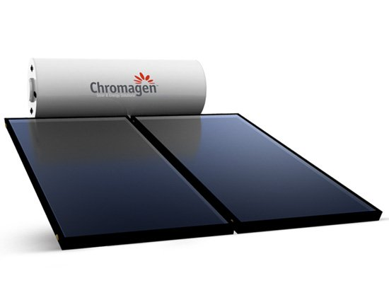 Chromagen Roofline Flat Plate Solar Hot Water System